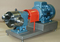 Stainless gear-wheel pumps